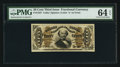 Fractional Currency:Third Issue, Fr. 1327 50¢ Third Issue Spinner PMG Choice Uncirculated 64 EPQ.. ...