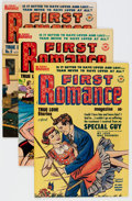 Silver Age (1956-1969):Romance, First Romance Group (Harvey, 1950-57) Condition: Average VF....(Total: 44 Comic Books)