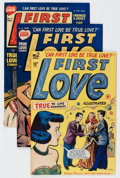 Golden Age (1938-1955):Romance, First Love Illustrated File Copy Group (Harvey, 1949-63) Condition:Average VF.... (Total: 78 Comic Books)