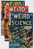 Golden Age (1938-1955):Science Fiction, Weird Science Group (EC, 1951-53) Condition: Average GD/VG....(Total: 5 Comic Books)