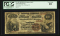 National Bank Notes:Pennsylvania, Pittsburgh, PA - $10 1882 Brown Back Fr. 490 The Federal NB Ch. #(E)6023. ...