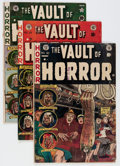 Golden Age (1938-1955):Horror, Vault of Horror Canadian Editions Group (EC, 1950-53) Condition:Average GD.... (Total: 5 Comic Books)