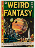 Golden Age (1938-1955):Science Fiction, Weird Fantasy #17 (#5) Canadian Edition (EC, 1951) Condition:VG....