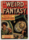 Golden Age (1938-1955):Science Fiction, Weird Fantasy #14 (#2) Canadian Edition (EC, 1950) Condition:GD/VG....