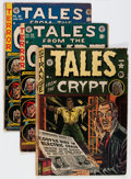 Golden Age (1938-1955):Horror, Tales From the Crypt Group (EC, 1950-55) Condition: Average GD....(Total: 11 Comic Books)