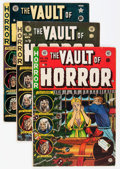 Golden Age (1938-1955):Horror, Vault of Horror Group (EC, 1950-55) Condition: Average GD+....(Total: 16 Comic Books)