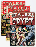 Golden Age (1938-1955):Horror, Tales From the Crypt UK and Canadian Editions Group (EC, 1950s)Condition: Average GD.... (Total: 4 Comic Books)