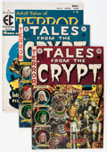 Golden Age (1938-1955):Horror, Tales From the Crypt Group (EC, 1950s) Condition: Average VG....(Total: 9 Comic Books)