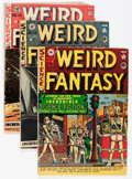 Golden Age (1938-1955):Science Fiction, Weird Fantasy Canadian Editions Group (EC, 1951-53) Condition:Average GD.... (Total: 7 Comic Books)