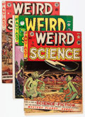 Golden Age (1938-1955):Science Fiction, Weird Science Canadian Editions Group (EC, 1950-52) Condition:Average GD/VG.... (Total: 11 Comic Books)