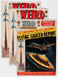 Golden Age (1938-1955):Science Fiction, Weird Science-Fantasy #24-28 Group (EC, 1954-55) Condition: AverageVG-.... (Total: 5 Comic Books)