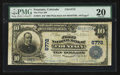 National Bank Notes:Colorado, Fountain, CO - $10 1902 Plain Back Fr. 624 The First NB Ch. # 6772....