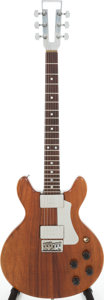 Musical Instruments:Electric Guitars, 1970s Travis Bean TB-1000S Natural Solid Body Electric Guitar,Serial # 170....