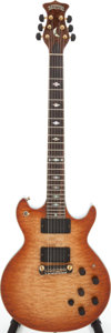 Musical Instruments:Electric Guitars, 1980 Moonstone Vulcan Sunburst Solid Body Electric Guitar, Serial #8185. ...