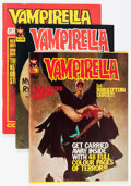 Magazines:Horror, Vampirella Foreign Edition Short Box Group (Various Publishers, 1970s) Condition: Average FN+....