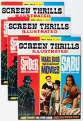 Magazines:Vintage, Screen Thrills Illustrated #8 Group (Warren, 1964) Condition: Average NM-.... (Total: 3 Items)