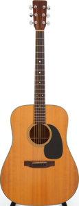 Musical Instruments:Acoustic Guitars, 1977 Martin D-18 Natural Acoustic Guitar, Serial # 396303. ...