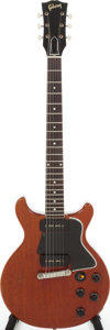 Musical Instruments:Electric Guitars, 1960 Gibson Les Paul Special Cherry Solid Body Electric Guitar,Serial # 0 1649. ...