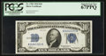Small Size:Silver Certificates, Fr. 1701 $10 1934 Silver Certificate. PCGS Superb Gem New 67PPQ.. ...