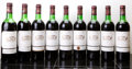Red Bordeaux, Chateau Margaux 1976 . Margaux. 1ts, 3vhs, 4hs, 1htms, 3lwisl, 1spc, 8ssos, owc. Bottle (9). ... (Total: 9 Btls. )