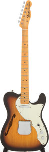 Musical Instruments:Electric Guitars, 1968 Fender Telecaster Custom Sunburst Solid Body Electric Guitar,Serial # 234804. ...