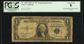 """Error Notes:Obstruction Errors, Fr. 1609 $1 1935A """"R"""" Silver Certificate. PCGS Very Good 8.. ..."""