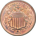 Patterns, 1871 5C Five Cents, Judd-1056, Pollock-1191, R.7, PR65 Red and Brown NGC. CAC....