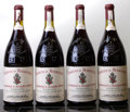 Rhone, Chateauneuf du Pape 1990 . Hommage a Jacques Perrin, Chateau deBeaucastel . 1(3.5cm), 1lwisl, 1wisl, 3spc, 2ssos. Magnu...(Total: 4 Mags. )