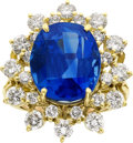Estate Jewelry:Rings, Sapphire, Diamond, Gold Ring, H. Stern. ...