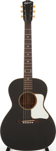 Musical Instruments:Acoustic Guitars, 1936 Gibson L-00 Black Acoustic Guitar, Serial # 854 B. ...