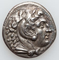 Ancients:Greek, Ancients: MACEDONIAN KINGDOM. Alexander III the Great (336-323 BC).AR tetradrachm (27mm, 16.39 gm, 12h)....