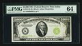 Small Size:Federal Reserve Notes, Fr. 2221-K $5000 1934 Federal Reserve Note. PMG Choice Uncirculated 64.. ...