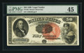 Large Size:Legal Tender Notes, Fr. 160 $50 1880 Legal Tender PMG Choice Extremely Fine 45.. ...