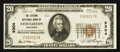 National Bank Notes:Wisconsin, Stoughton, WI - $20 1929 Ty. 1 The Citizens NB Ch. # 9304. ...