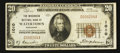 National Bank Notes:Wisconsin, Watertown, WI - $20 1929 Ty. 1 The Wisconsin NB Ch. # 1010. ...