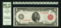 Fr. 835b $5 1914 Red Seal Federal Reserve Note PCGS Superb Gem New 67PPQ