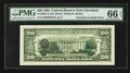 Error Notes:Third Printing on Reverse, Fr. 2081-D $20 1995 Federal Reserve Note. PMG Gem Uncirculated 66 EPQ.. ...