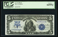 Large Size:Silver Certificates, Fr. 274 $5 1899 Silver Certificate PCGS Gem New 66PPQ.. ...