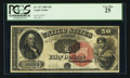 Large Size:Legal Tender Notes, Fr. 157 $50 1880 Legal Tender PCGS Very Fine 25.. ...