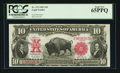 Large Size:Legal Tender Notes, Fr. 119 $10 1901 Legal Tender PCGS Gem New 65PPQ.. ...