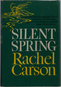 Books:Natural History Books & Prints, Rachel Carson. Silent Spring. Houghton Mifflin, 1962. Firstedition. Publisher's cloth and dust jacket. Trivial ...