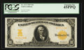 Large Size:Gold Certificates, Fr. 1171 $10 1907 Gold Certificate PCGS Extremely Fine 45PPQ.. ...