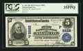 National Bank Notes:Idaho, Malad City, ID - $5 1902 Plain Back Fr. 600 The First NB Ch. # (P)8822. ...