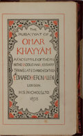 Books:Literature Pre-1900, Edward Heron Allen, editor. The Rub'iyat of Omar Khayyam. Beinga Facsimile of the MS in the Bodleian Library. H...