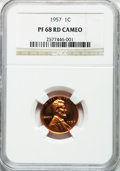 Proof Lincoln Cents: , 1957 1C PR68 Cameo NGC. NGC Census: (22/4). PCGS Population (15/0).Numismedia Wsl. Price for problem free NGC/PCGS coin i...