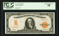 Fr. 1167 $10 1907 Gold Certificate PCGS Choice About New 58
