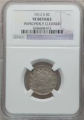 Liberty Nickels: , 1912-S 5C -- Improperly Cleaned -- NGC Details. VF. NGC Census:(9/554). PCGS Population (57/854). Mintage: 238,000. Numism...