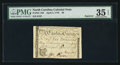 Colonial Notes:North Carolina, North Carolina April 2, 1776 $6 Squirrel PMG Choice Very Fine 35EPQ.. ...