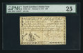 Colonial Notes:South Carolina, South Carolina February 8, 1779 $80 PMG Very Fine 25.. ...