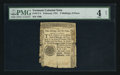 Colonial Notes:Vermont, Vermont February 1781 2s 6d PMG Good 4 Net.. ...